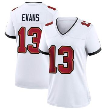 Women's Nike Tampa Bay Buccaneers Mike Evans White Jersey - Game