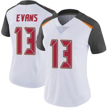 Women's Nike Tampa Bay Buccaneers Mike Evans White Vapor Untouchable Jersey - Limited