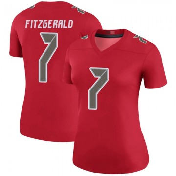 Women's Nike Tampa Bay Buccaneers Nick Fitzgerald Red Color Rush Jersey - Legend