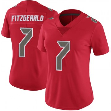Women's Nike Tampa Bay Buccaneers Nick Fitzgerald Red Color Rush Jersey - Limited