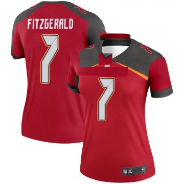 Women's Nike Tampa Bay Buccaneers Nick Fitzgerald Red Jersey - Legend