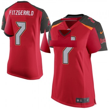 Women's Nike Tampa Bay Buccaneers Nick Fitzgerald Red Team Color Jersey - Game