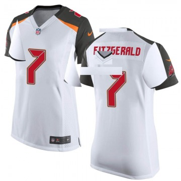 Women's Nike Tampa Bay Buccaneers Nick Fitzgerald White Jersey - Game