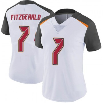 Women's Nike Tampa Bay Buccaneers Nick Fitzgerald White Vapor Untouchable Jersey - Limited