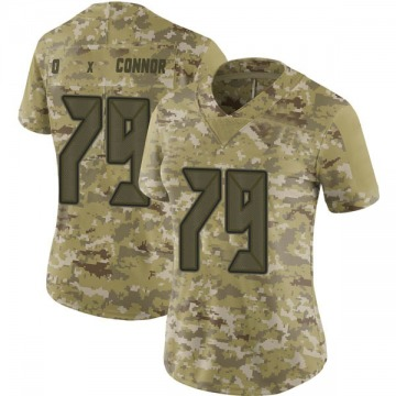 Women's Nike Tampa Bay Buccaneers Patrick O'Connor Camo 2018 Salute to Service Jersey - Limited