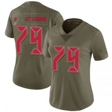 Women's Nike Tampa Bay Buccaneers Patrick O'Connor Green 2017 Salute to Service Jersey - Limited