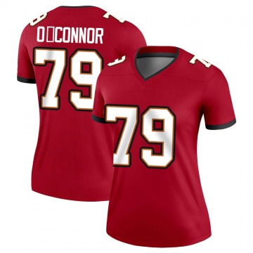 Women's Nike Tampa Bay Buccaneers Patrick O'Connor Red Jersey - Legend