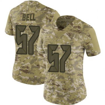 Women's Nike Tampa Bay Buccaneers Quinton Bell Camo 2018 Salute to Service Jersey - Limited