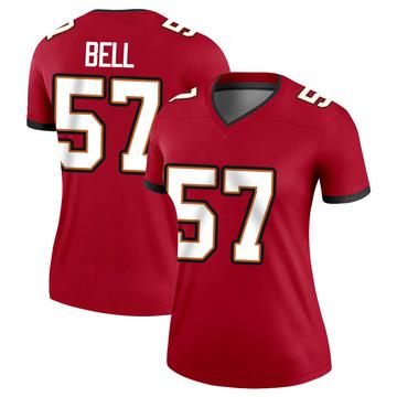 Women's Nike Tampa Bay Buccaneers Quinton Bell Red Jersey - Legend
