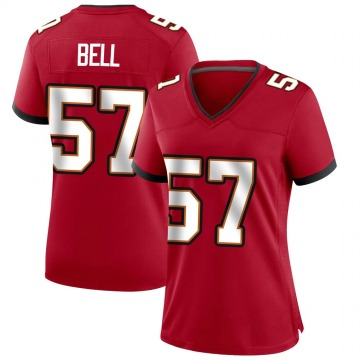 Women's Nike Tampa Bay Buccaneers Quinton Bell Red Team Color Jersey - Game