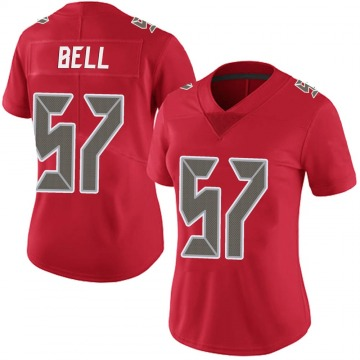 Women's Nike Tampa Bay Buccaneers Quinton Bell Red Team Color Vapor Untouchable Jersey - Limited