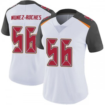 Women's Nike Tampa Bay Buccaneers Rakeem Nunez-Roches White Vapor Untouchable Jersey - Limited