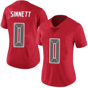 Women's Nike Tampa Bay Buccaneers Reid Sinnett Red Team Color Vapor Untouchable Jersey - Limited
