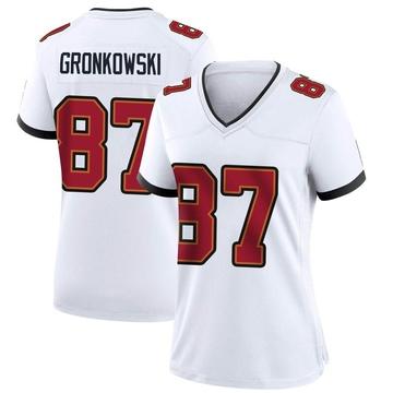 Women's Nike Tampa Bay Buccaneers Rob Gronkowski White Jersey - Game