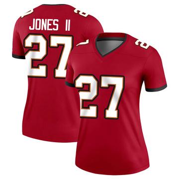 Women's Nike Tampa Bay Buccaneers Ronald Jones Red Jersey - Legend