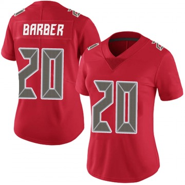 Women's Nike Tampa Bay Buccaneers Ronde Barber Red Team Color Vapor Untouchable Jersey - Limited