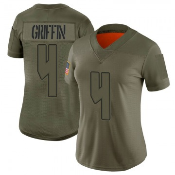 Women's Nike Tampa Bay Buccaneers Ryan Griffin Camo 2019 Salute to Service Jersey - Limited