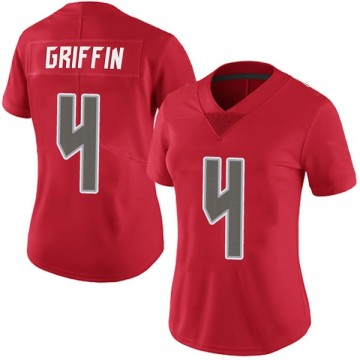 Women's Nike Tampa Bay Buccaneers Ryan Griffin Red Team Color Vapor Untouchable Jersey - Limited