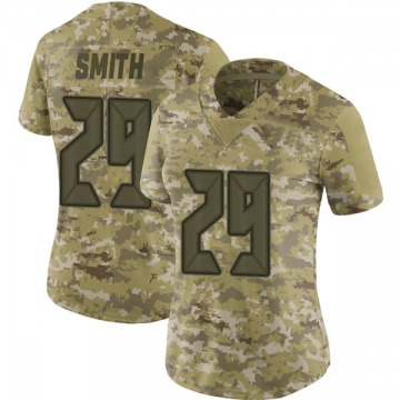 Women's Nike Tampa Bay Buccaneers Ryan Smith Camo 2018 Salute to Service Jersey - Limited