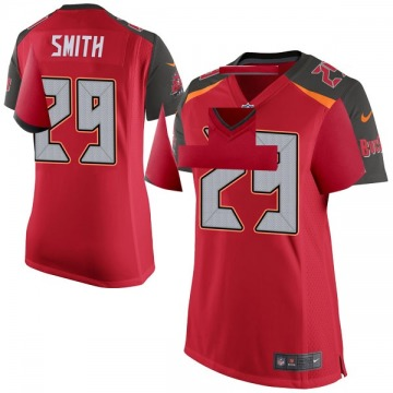 Women's Nike Tampa Bay Buccaneers Ryan Smith Red Team Color Jersey - Game