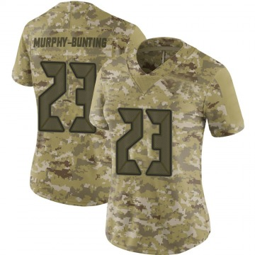Women's Nike Tampa Bay Buccaneers Sean Bunting Camo 2018 Salute to Service Jersey - Limited