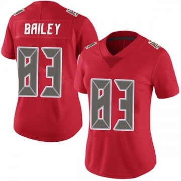 Women's Nike Tampa Bay Buccaneers Sergio Bailey Red Team Color Vapor Untouchable Jersey - Limited