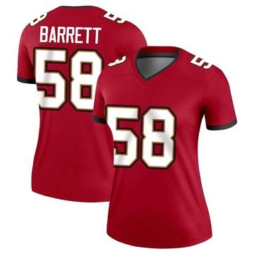 Women's Nike Tampa Bay Buccaneers Shaquil Barrett Red Jersey - Legend