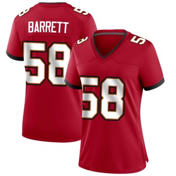Women's Nike Tampa Bay Buccaneers Shaquil Barrett Red Team Color Jersey - Game