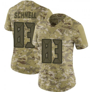 Women's Nike Tampa Bay Buccaneers Spencer Schnell Camo 2018 Salute to Service Jersey - Limited