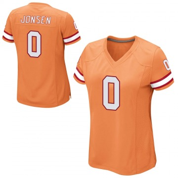 Women's Nike Tampa Bay Buccaneers Travis Jonsen Orange Alternate Jersey - Game
