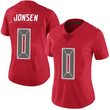 Women's Nike Tampa Bay Buccaneers Travis Jonsen Red Team Color Vapor Untouchable Jersey - Limited