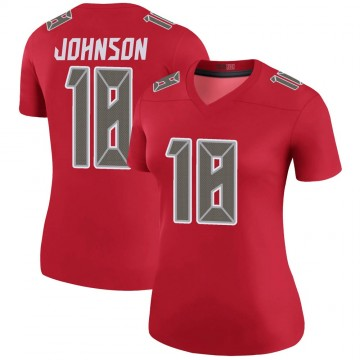 Women's Nike Tampa Bay Buccaneers Tyler Johnson Red Color Rush Jersey - Legend