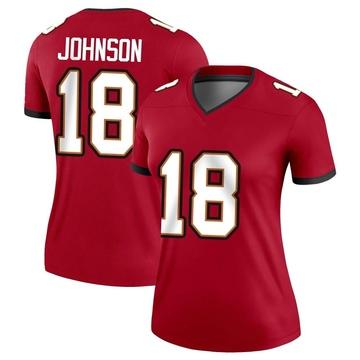 Women's Nike Tampa Bay Buccaneers Tyler Johnson Red Jersey - Legend