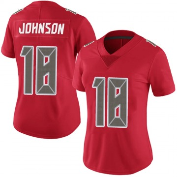 Women's Nike Tampa Bay Buccaneers Tyler Johnson Red Team Color Vapor Untouchable Jersey - Limited