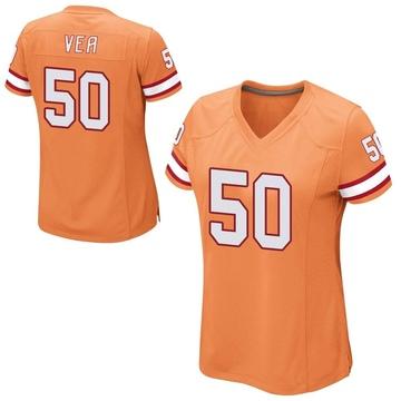 Women's Nike Tampa Bay Buccaneers Vita Vea Orange Alternate Jersey - Game