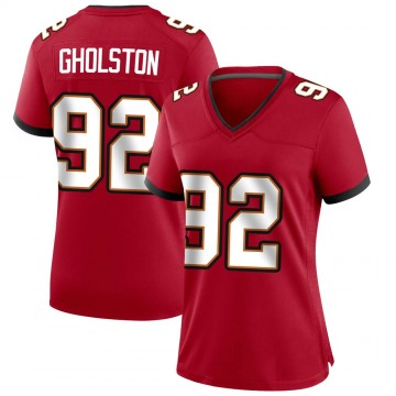 Women's Nike Tampa Bay Buccaneers William Gholston Red Team Color Jersey - Game