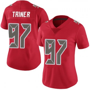 Women's Nike Tampa Bay Buccaneers Zach Triner Red Team Color Vapor Untouchable Jersey - Limited