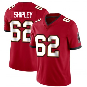 Youth Nike Tampa Bay Buccaneers A.Q. Shipley Red Team Color Vapor Untouchable Jersey - Limited