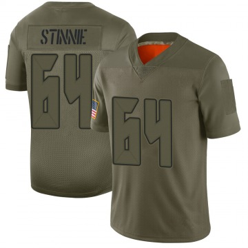 Youth Nike Tampa Bay Buccaneers Aaron Stinnie Camo 2019 Salute to Service Jersey - Limited