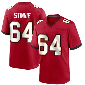 Youth Nike Tampa Bay Buccaneers Aaron Stinnie Red Team Color Jersey - Game