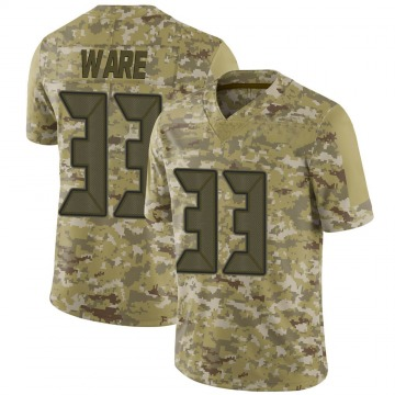 Youth Nike Tampa Bay Buccaneers Aca'Cedric Ware Camo 2018 Salute to Service Jersey - Limited