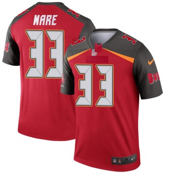 Youth Nike Tampa Bay Buccaneers Aca'Cedric Ware Red Jersey - Legend