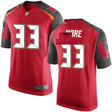 Youth Nike Tampa Bay Buccaneers Aca'Cedric Ware Red Team Color Jersey - Game