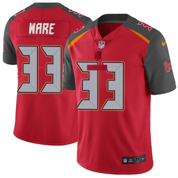 Youth Nike Tampa Bay Buccaneers Aca'Cedric Ware Red Team Color Vapor Untouchable Jersey - Limited