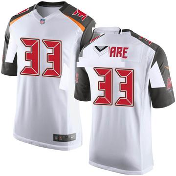 Youth Nike Tampa Bay Buccaneers Aca'Cedric Ware White Jersey - Game