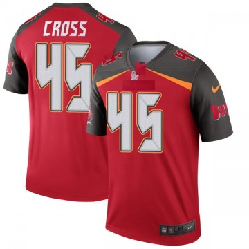 Youth Nike Tampa Bay Buccaneers Alan Cross Red Jersey - Legend