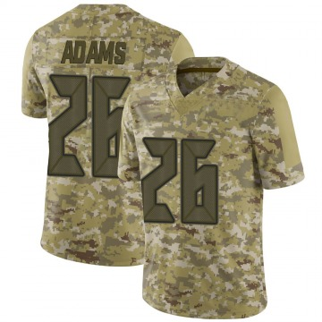 Youth Nike Tampa Bay Buccaneers Andrew Adams Camo 2018 Salute to Service Jersey - Limited