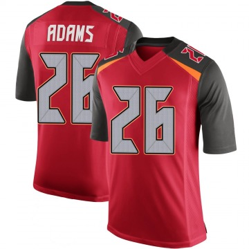 Youth Nike Tampa Bay Buccaneers Andrew Adams Red 100th Vapor Jersey - Limited