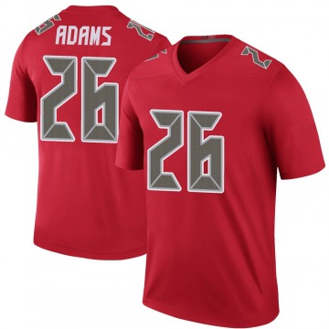 Youth Nike Tampa Bay Buccaneers Andrew Adams Red Color Rush Jersey - Legend