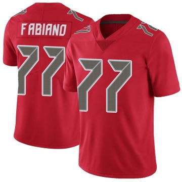 Youth Nike Tampa Bay Buccaneers Anthony Fabiano Red Color Rush Jersey - Limited